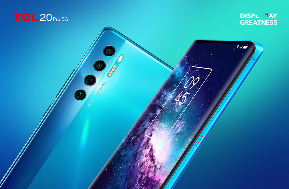 New TCL 20 Pro 5G Powered by AI-based Pixelworks Processor Disrupts Premium Smartphone Market with Affordable Flagship