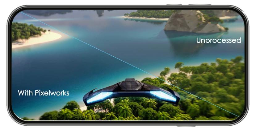 Pixelworks智能高帧率运动手机